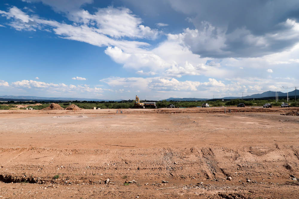 Vineyards at Cottonwood's Lot 30 Center View