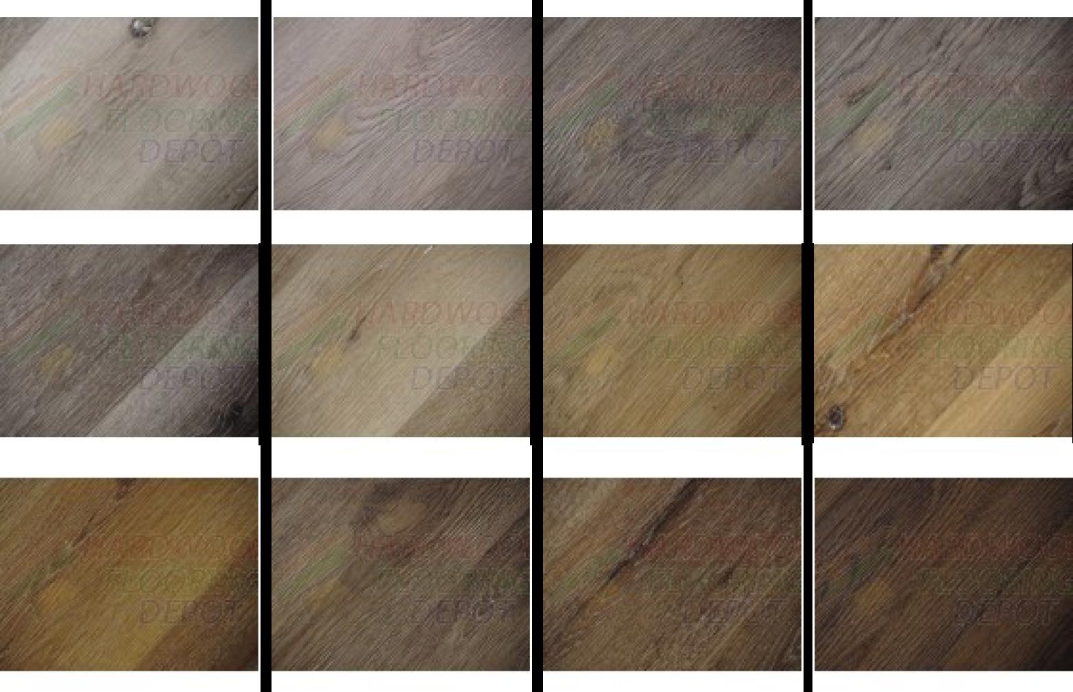 Standard vinyl plank floor options