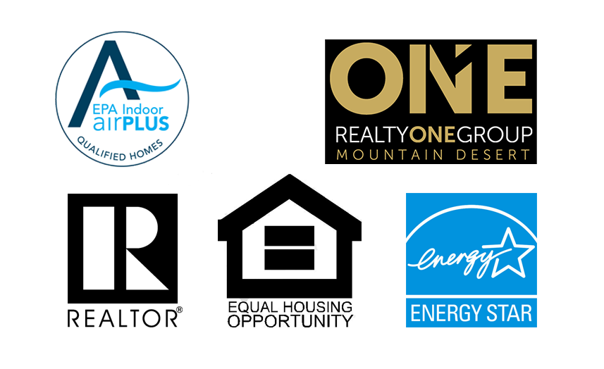 Footer logos: Indoor airPLUS, ENERGY STAR, Relator, Equal Housing Opportunity, Realty ONE Group