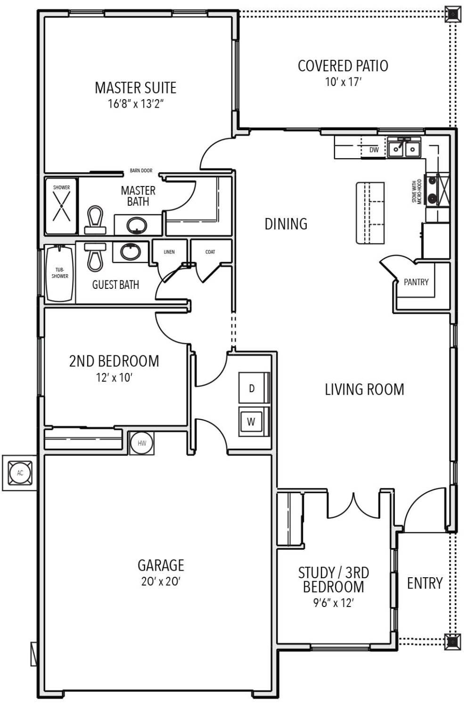 Axil floor plan