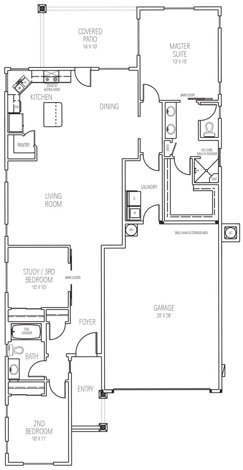 Cordon floor plan