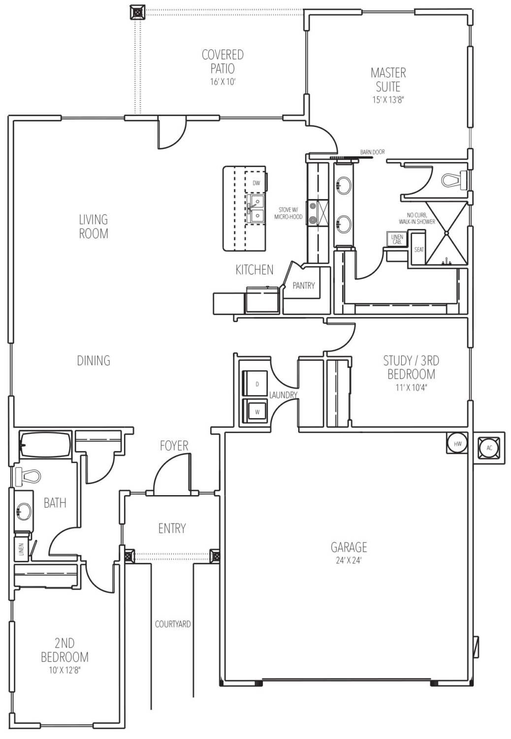 Scion floor plan