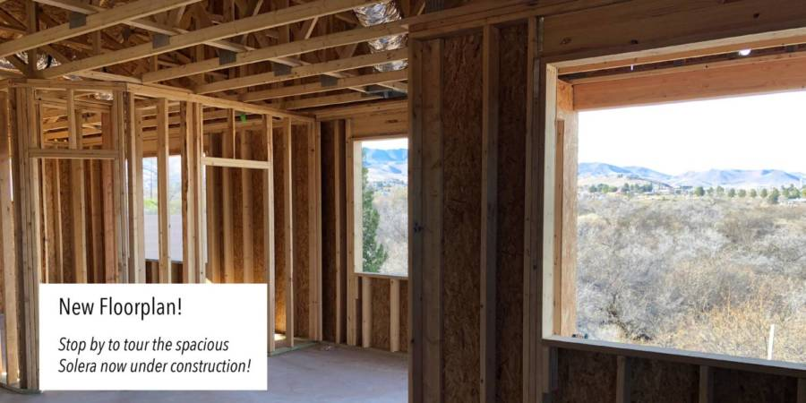 Our new 1937 sqft floorpan is now under construction