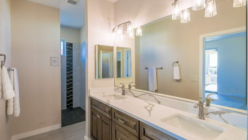 Veraison master bath vanity