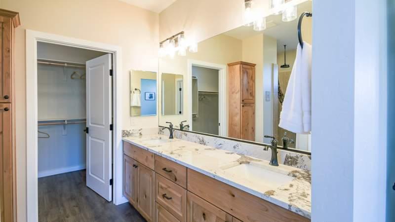 Scion master bathroom vanity