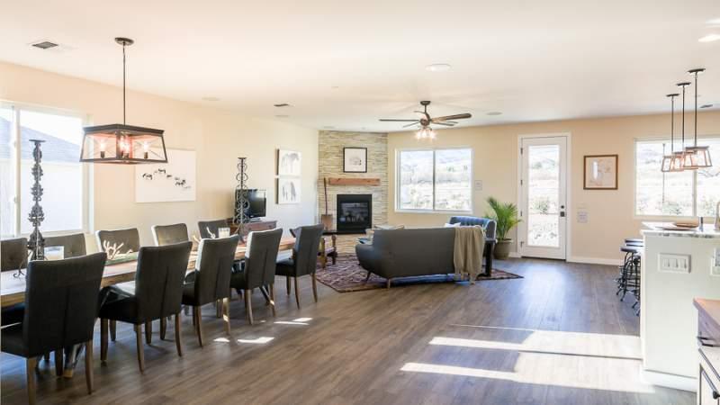 Main open living area in Scion