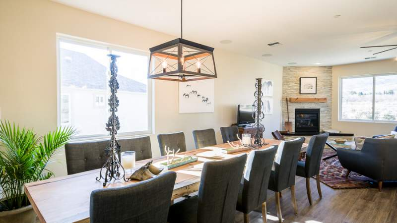 Scion dining and living rooms