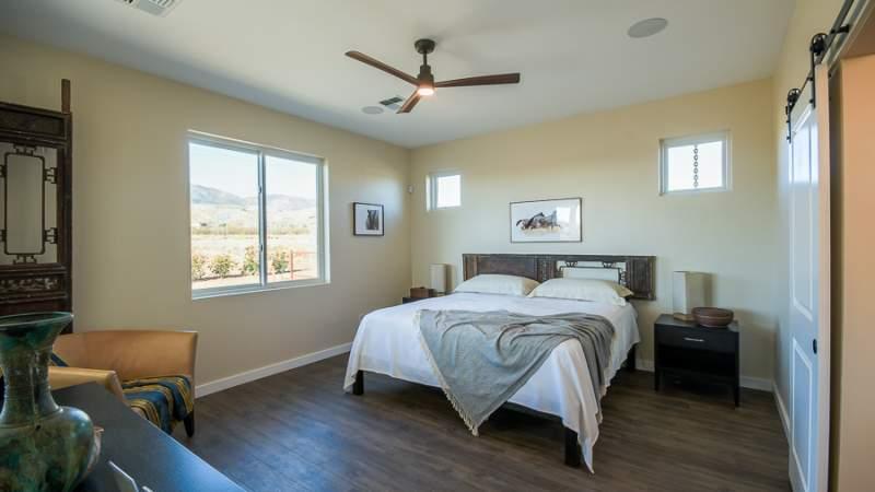 Scion master bedroom